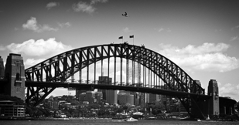 iconic sydney harbour bridge